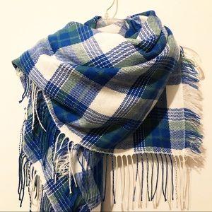Madewell blanket scarf.
